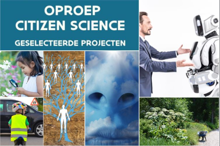 Vlaamse steun voor 6 nieuwe 'Citizen Science'-projecten