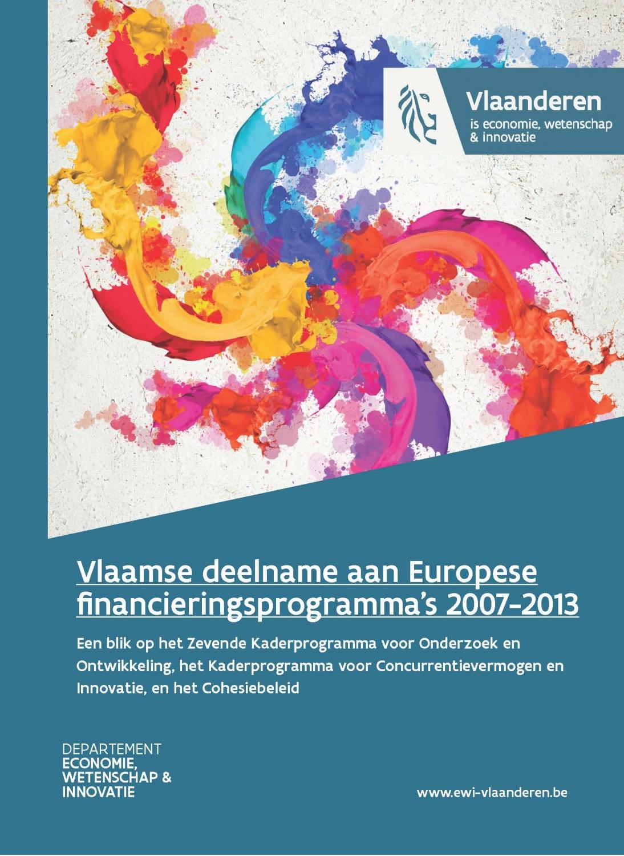 Vlaamse deelname aan EU financieringsprogramma's